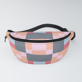 Native Patchwork Pixel Fanny Pack