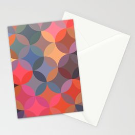 Moroccan pattern multicolor Stationery Cards