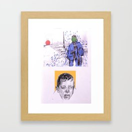 A bad painting is all it takes... Framed Art Print