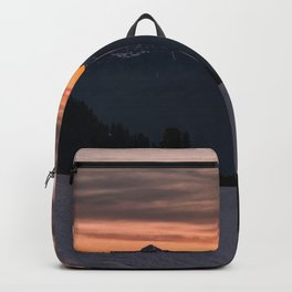 Rising Sun in the Cascades - nature photography Backpack