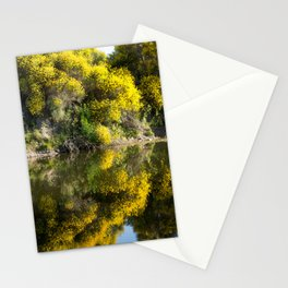 Yellow Trees on the Sauce Grande River Stationery Cards