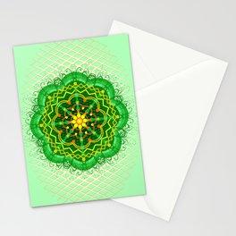Mandala Zen Greenery Seamless Pattern Design Stationery Cards