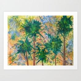 Miami Inspired Art Print