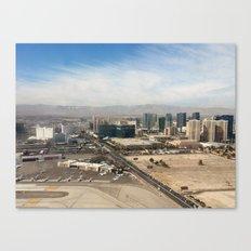 Leaving Las Vegas 1 Canvas Print