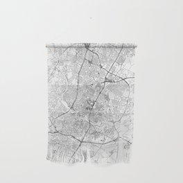 Austin White Map Wall Hanging