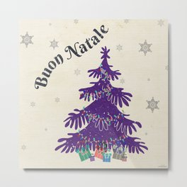 Buon Natale Metal Print