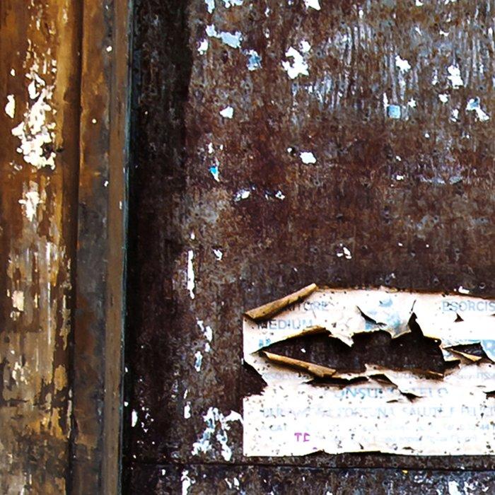 Old Sicilian door of Catania Leggings