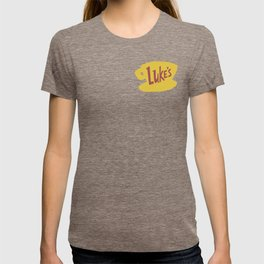 Everything's sunny side in a diner T-shirt