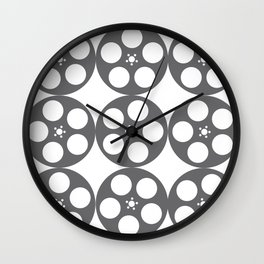 Film Reels Wall Clock