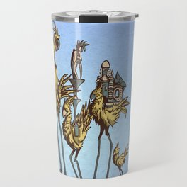 Dali Chocobos Travel Mug