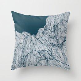 Rocks of nature Throw Pillow