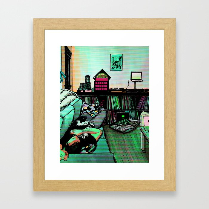 You Can't Spell Dreams Without a K Framed Art Print