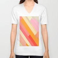 sprinkles V-neck T-shirts featuring color story - sprinkles by Amanda Millner McAdoo