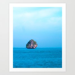Thailand Rocks and Islands Art Print