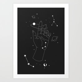 My Zone Art Print