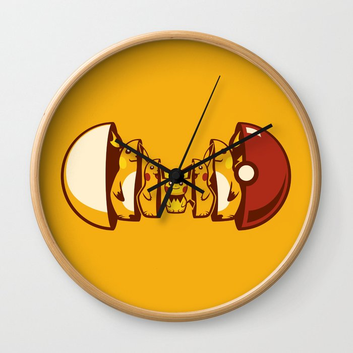 Poketryoshka - Electric Type Wall Clock
