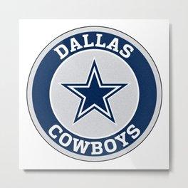 Texas Dallas Football Logo Metal Print