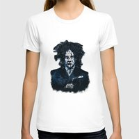 jack white T-shirts featuring Typo-songs Jack White by Daniac Design