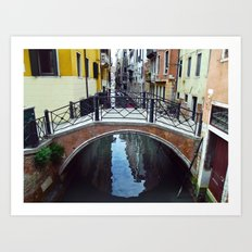 Venice Bridge Art Print