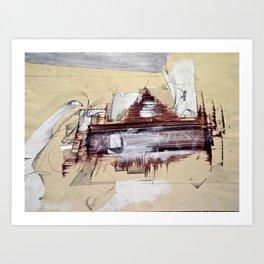 """""""Monotype"""" Art Print"""