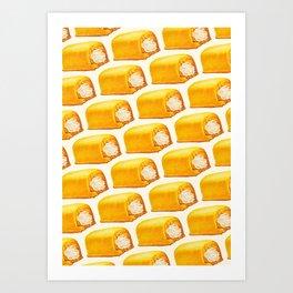 Twinkie Pattern Kunstdrucke