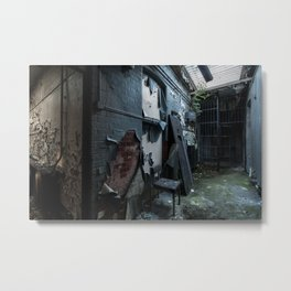 Abandoned Court House Metal Print