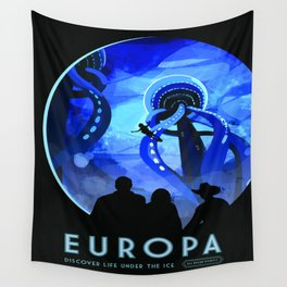 Vintage poster - Europa Wall Tapestry