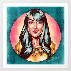 Clarice Falcão Art Print