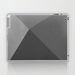 Pyramid - Black and White Laptop & iPad Skin