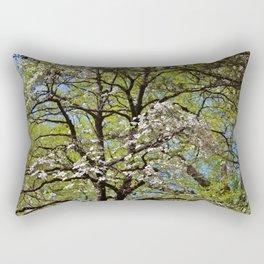 Flowering Dogwood Rectangular Pillow