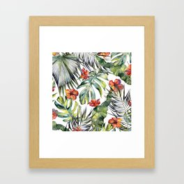 TROPICAL GARDEN 5 Framed Art Print