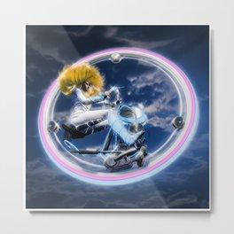 Wind Surfers II Metal Print
