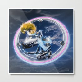 Wind Surfers II Metal Print