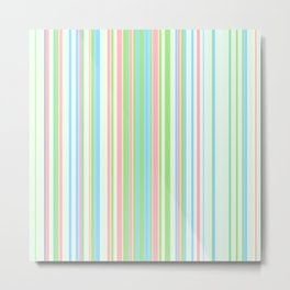 Stripe obsession color mode #2 Metal Print
