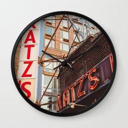 Katz Wall Clock
