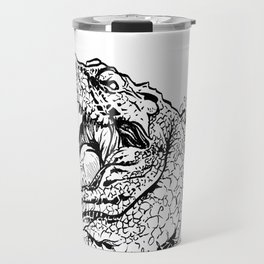 Crocodile says hey Travel Mug