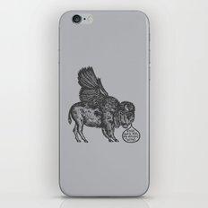 The Buffalo's Plea iPhone & iPod Skin
