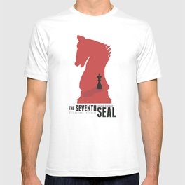 The Seventh Seal - Classic Bergman Movie Poster T-shirt