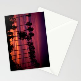 Sunset over Hollywood Stationery Cards