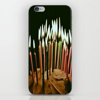 happy birthday iPhone & iPod Skins featuring Happy Birthday by Thomas Eppolito