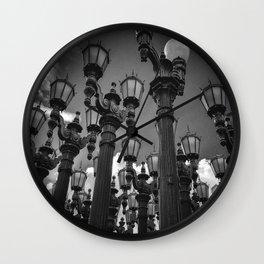 Lamposts Wall Clock