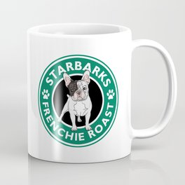 Funny Mug French Bulldog Starbarks Frenchie Roast Coffee Mug