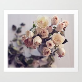 bouquet of decay Art Print