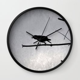 Out on a Limb  (Caw Me) Wall Clock