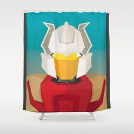 Chromedome MTMTE Shower Curtain