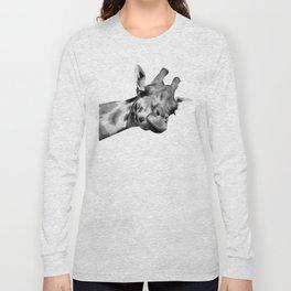Black and white giraffe Long Sleeve T-shirt