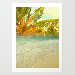 Bahama sunset Art Print