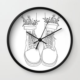 walk with me, pt II Wall Clock