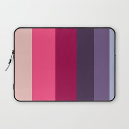 Wine Magenta Grape Purple Color-block Pattern Laptop Sleeve