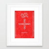 switzerland Framed Art Prints featuring Switzerland by liamhohoho